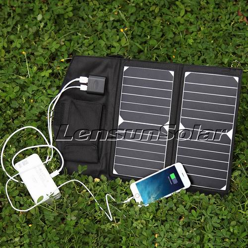 14w white solar charger