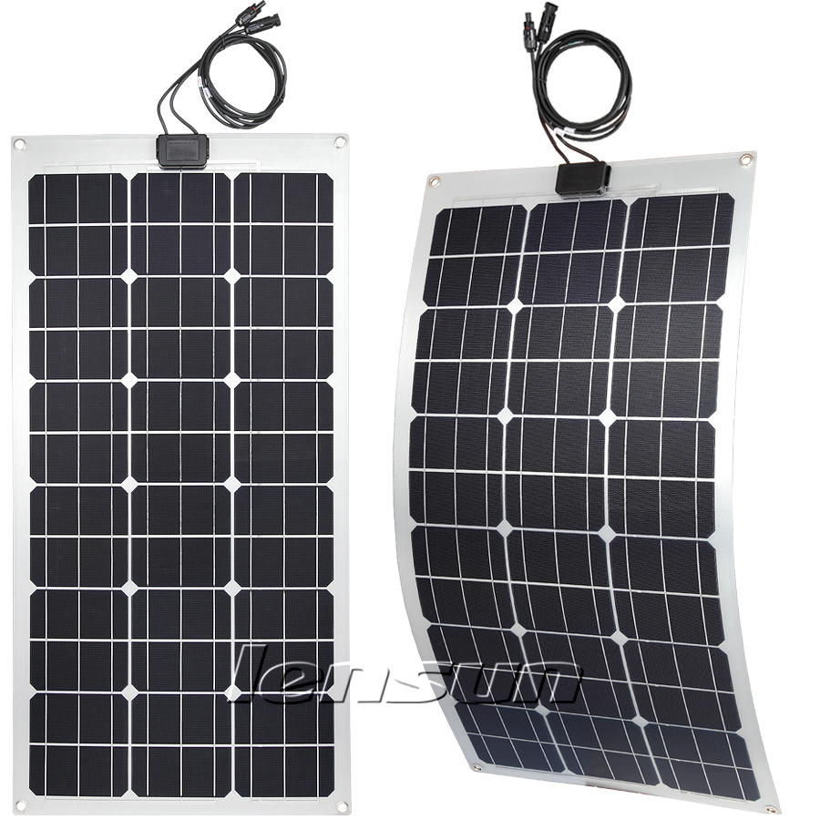 There Are Four Types Difference Flexible Solar Panels In
