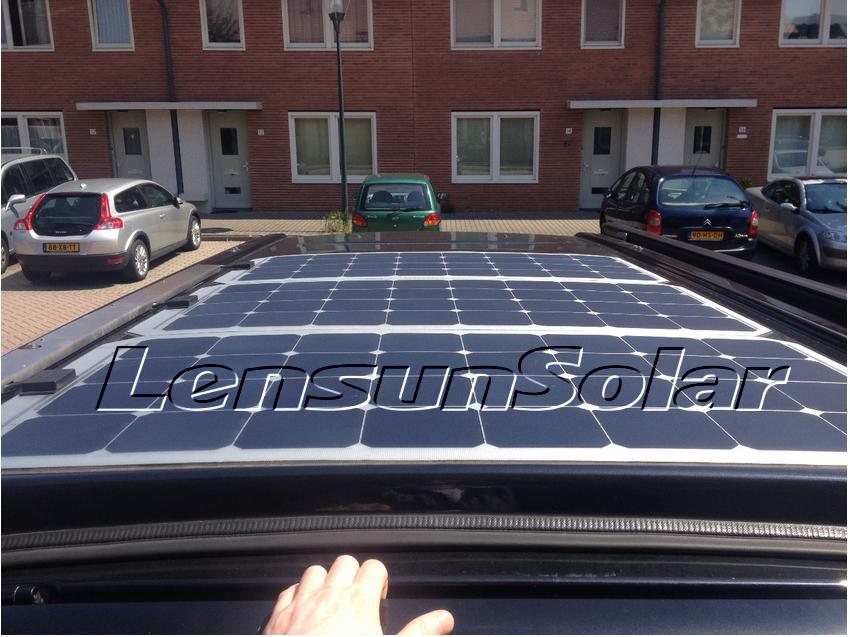lensun-100w-flexible-solar-panel-on-motorhome2