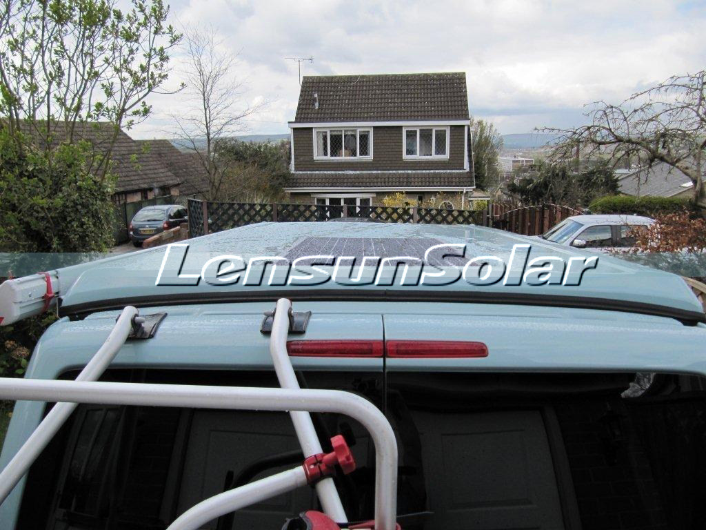 Review fro Lensun 80W flexible solar panel-solar-energy-eco-camping