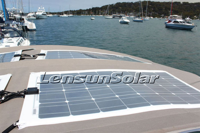 Solar Panels For Boats >> How To Install Marine Solar Panels Lensun Solar Panel Lensunsolar