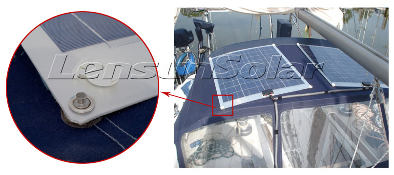 The Gallery Of Marine Flexible Solar Panels Installations