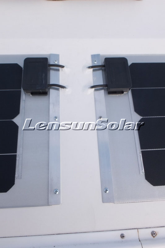 Lensun-customizing-50W-flexible-solar-panels-18V-12V-system-sunpower-solar-cells-back-contact-for-Kimberley-Karavan-off-road-caravan-camping-van-motorhome-boat-yacht-camper