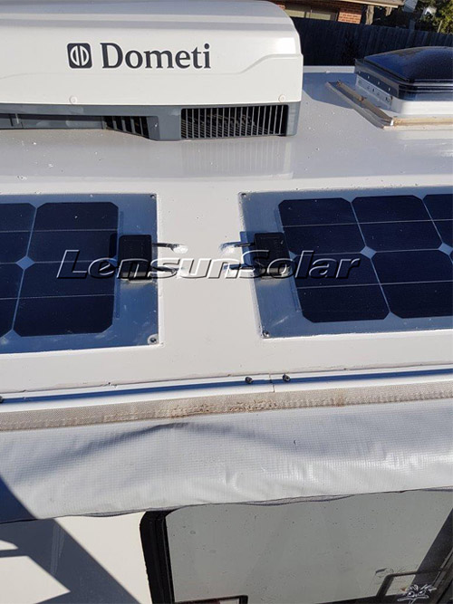MC4-cables-with-Connectors-Lensun-waterproof-junction-box-on-the-special-customizing-solar-panel-for-Kimberley-Karavan-off-road-caravan-camping-van-motorhome-boat-yacht