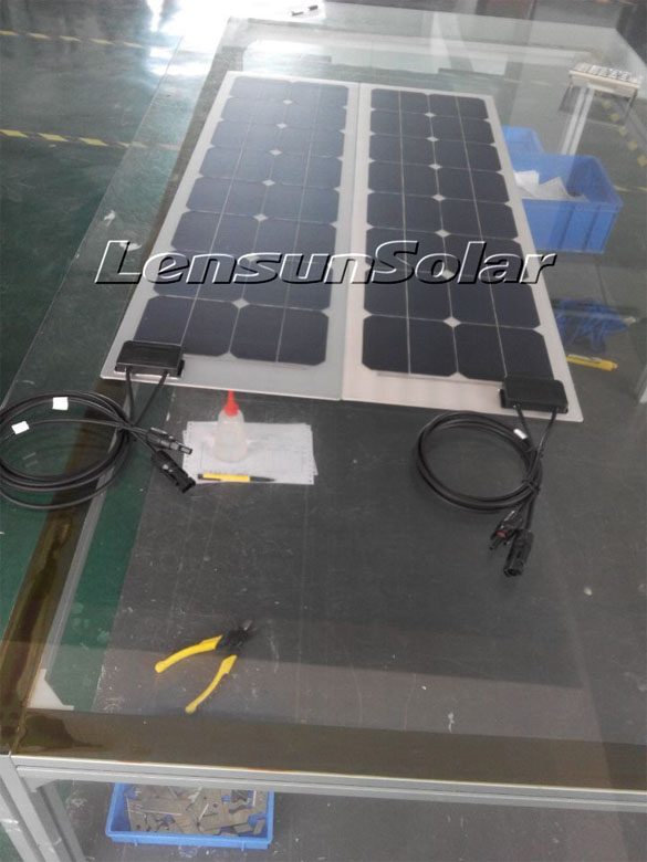 sunpower-Lensun-50W-mono-flexible-solar-panels