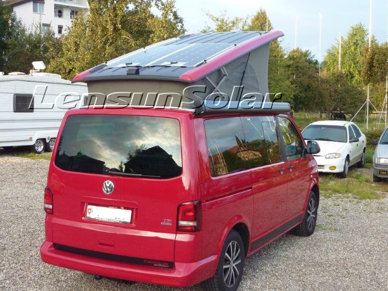 Volkswagen Vw T4 Or T5 Camping Vans Bus Install Flexible