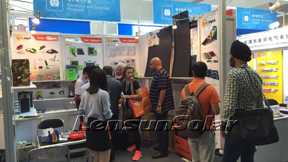 018-canton-fair-lensun-guangzhou-sumyok-flexible-solar-power-energy-system-outdoor-wild-portable-thin-lightweight