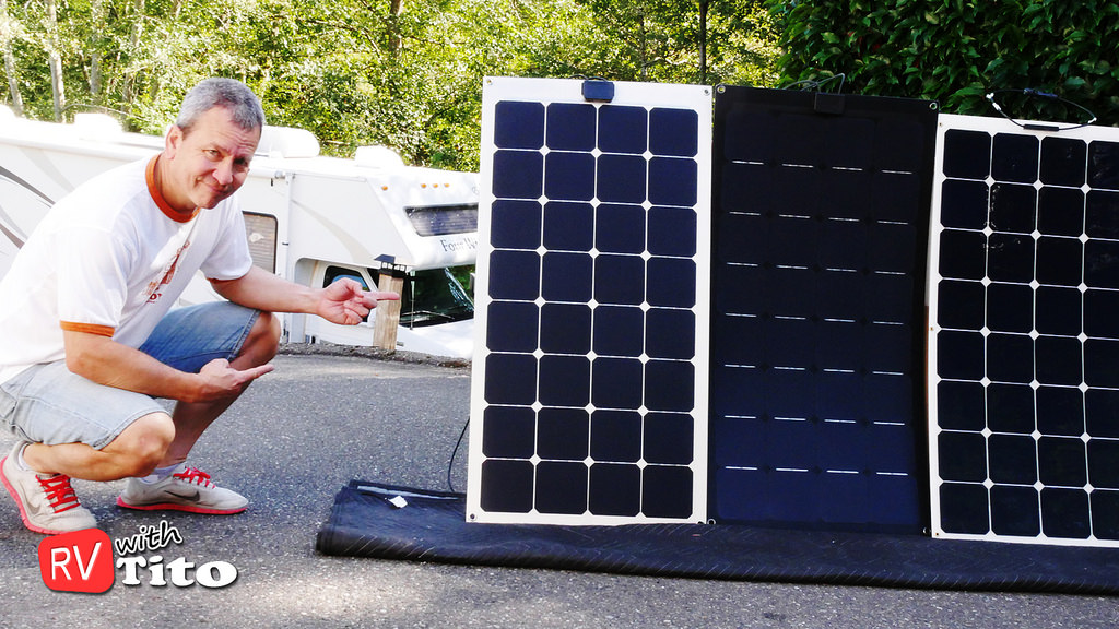lensun0-100w-black-flexible-solar-panels-how-to-install-or-buy-solar-panels-for-rvs-boat
