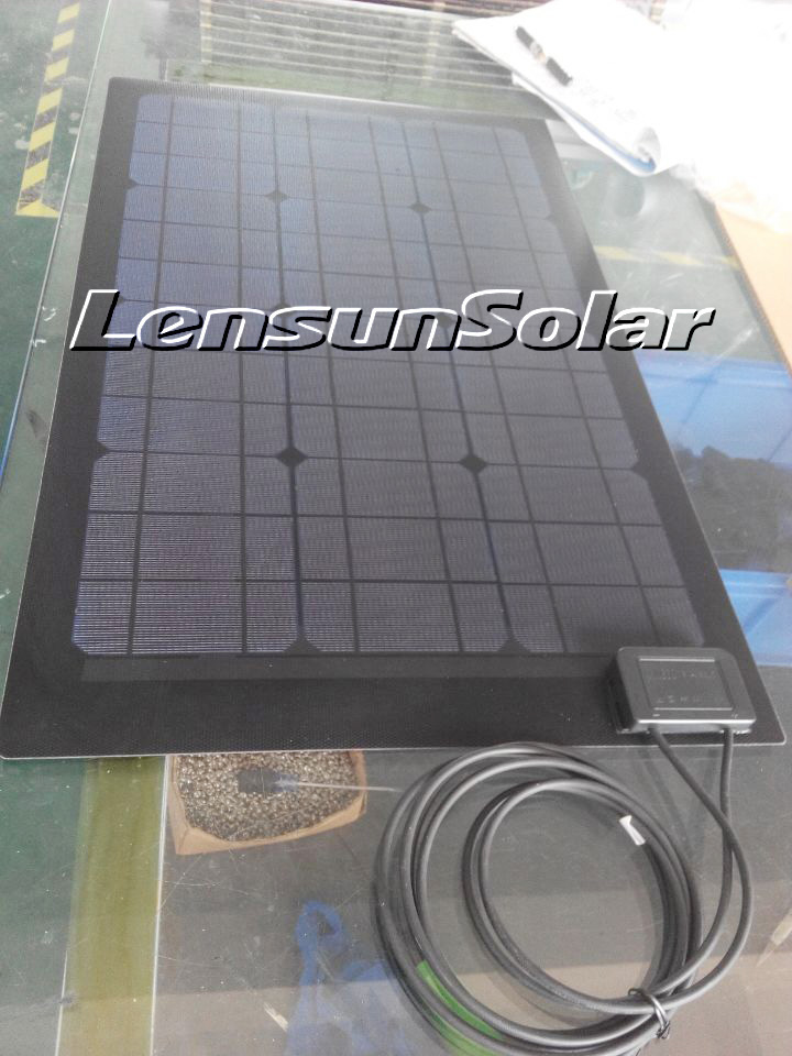 Customize Your Own Flexible Solar Panel Lensun Solar
