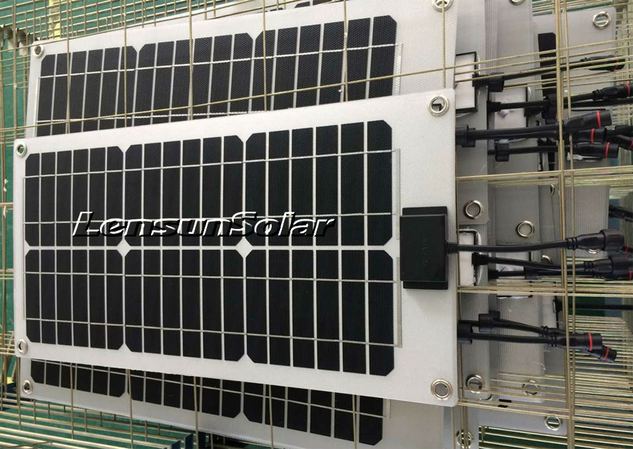 custom-service-lensun-20w-flexible-solar-panel