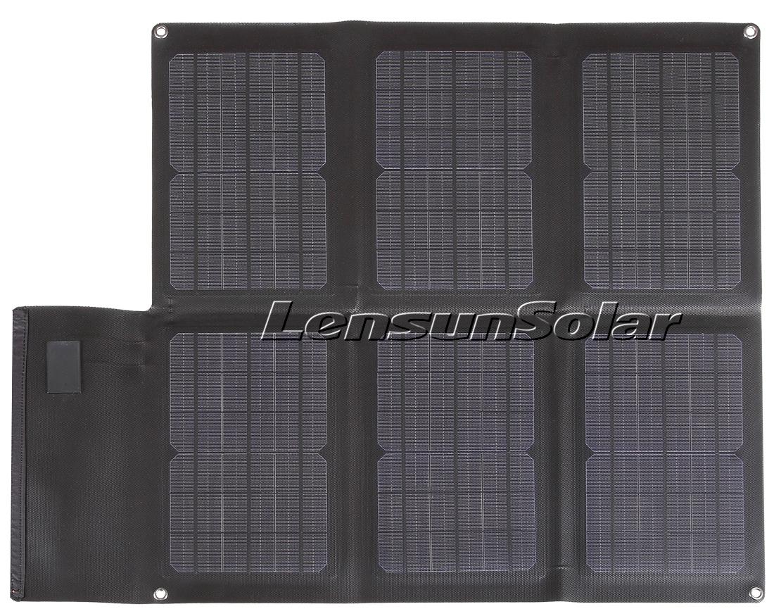 New Lensunsolar Etfe Laminating Foldable Solar Chargers