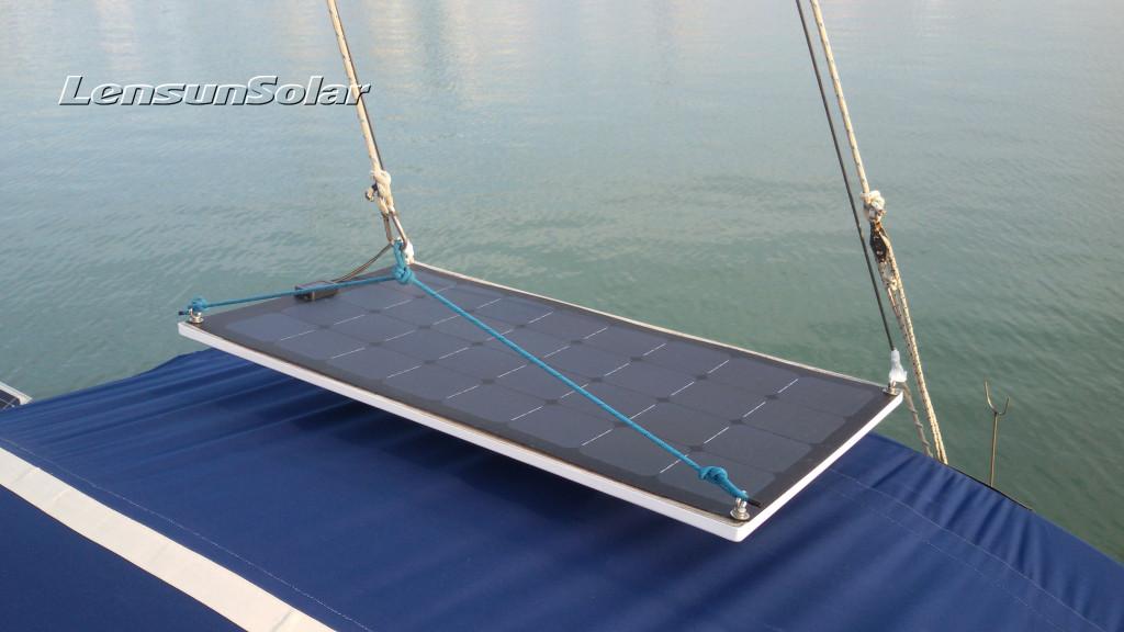 100W-flexible-solar-panel-black-solar-system-logo