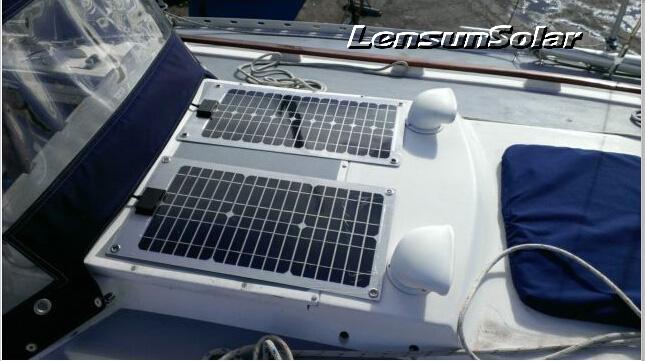 50W-flexible-solar-panel-lensun-logo
