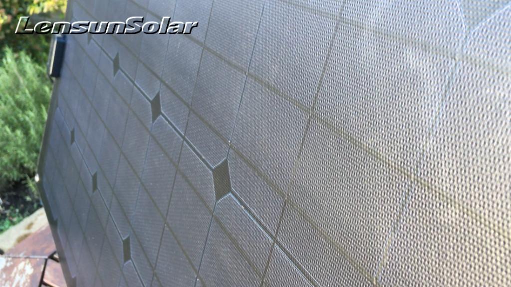 Lensun-ETFE-Coating-film-lamination-80W-flexible-solar-panel-black-solar-power-electric-system-kit