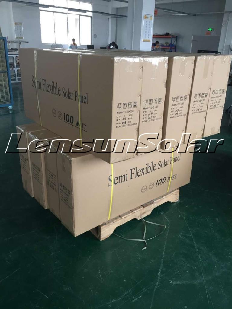 New-Order-Lensun-Semi-Flexible-Solar-Panels-from-our-European-Wholesalers-Black-fiberglass-back-sheet-solar-energy-power