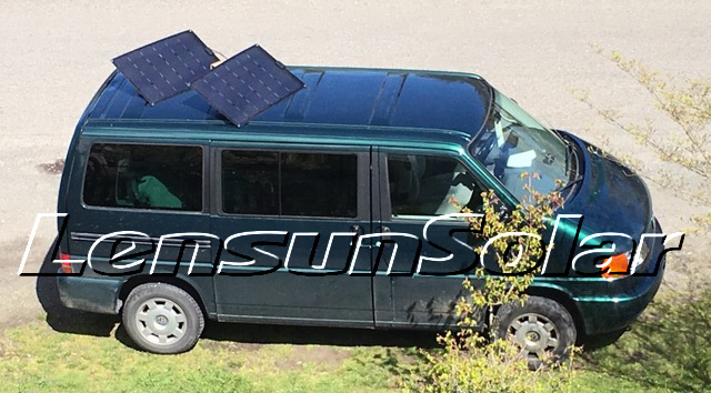 Lensun-160W-80W-Black-flexible-solar-panel-solar-energy-system-logo