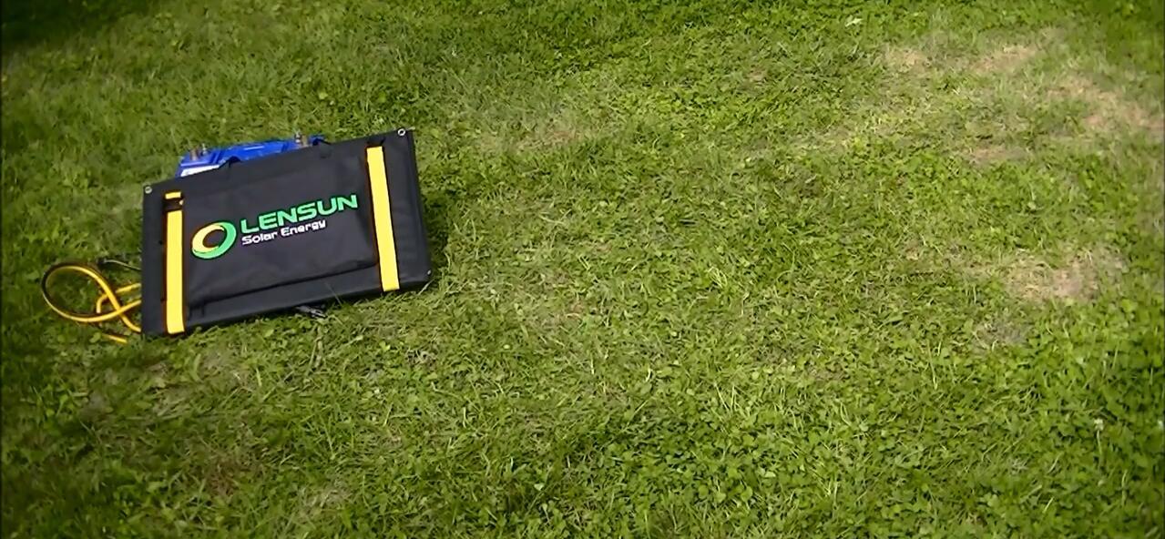 Lensun-100w-folding-portable-ETFE-SOLAR-PANEL-FOR-CAMPING