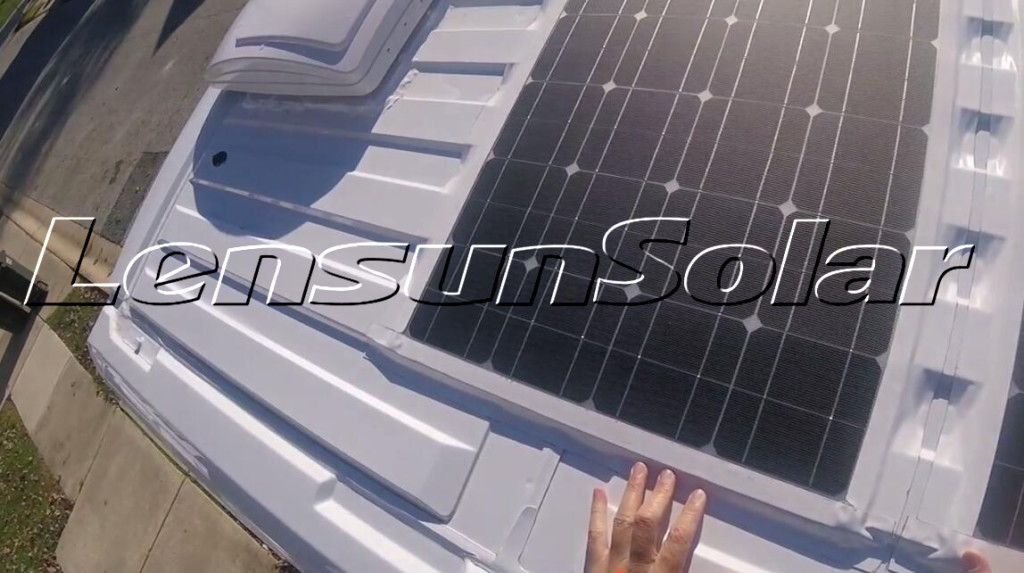 How To Install Flexible Solar Panel On Rv Camper Bus
