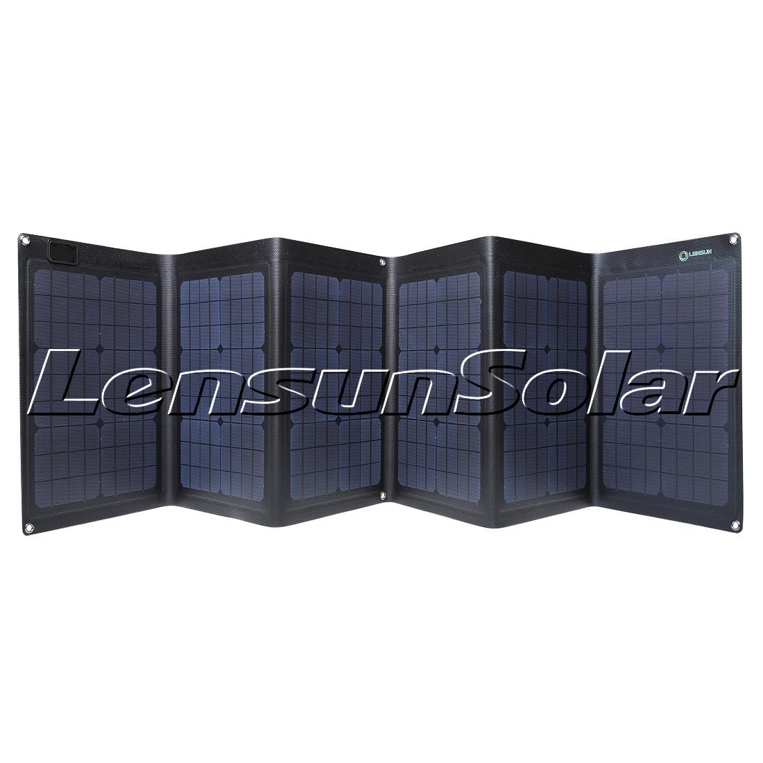 Lensun Etfe Coating Folding Solar Charge 100w 18v