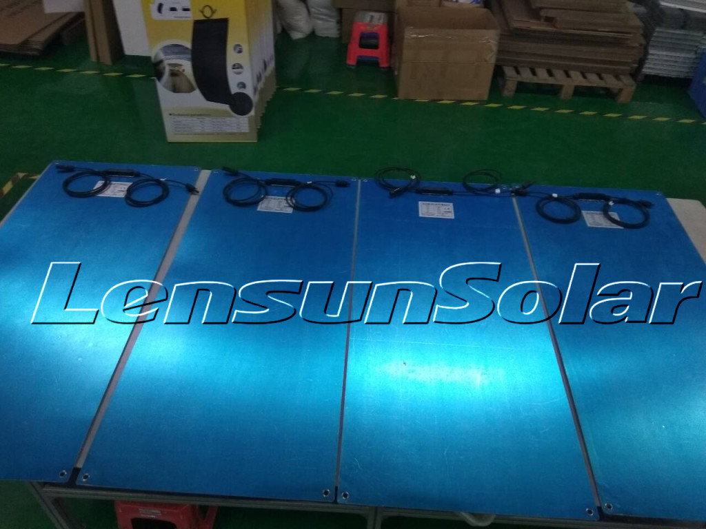 Lensun-100W-ETFE-Flexible-Solar-panel-energy
