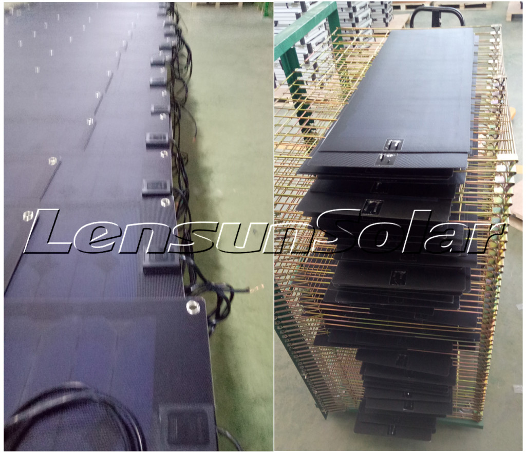 Lensun-Custom-42W-black-fiberglass-ETFE-solar-panels-flexible-Ver-mac