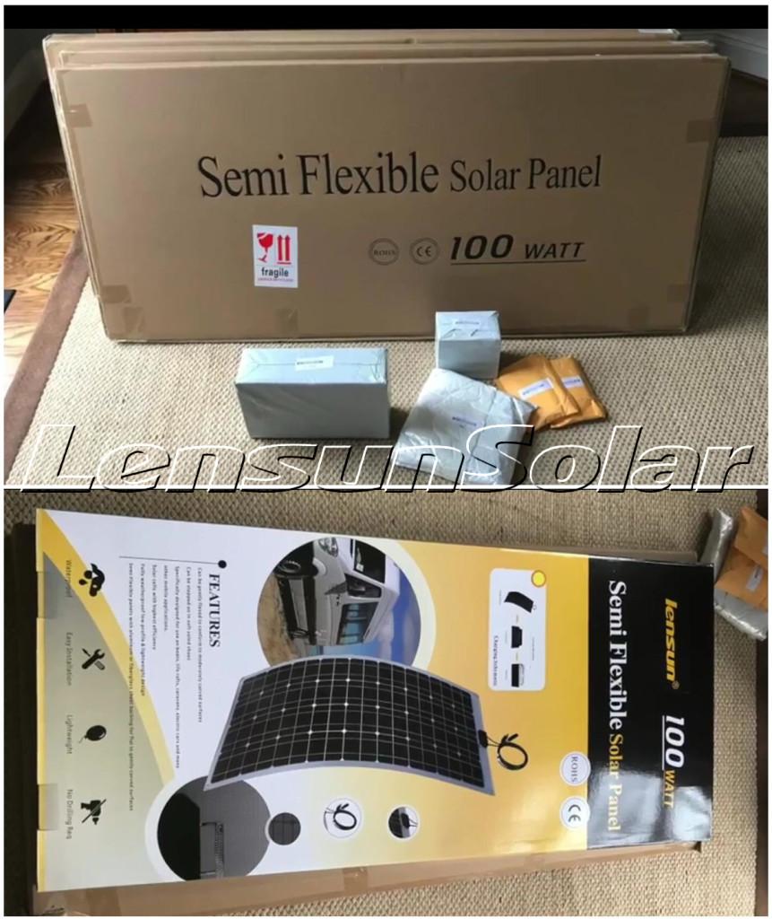 Lensun-100W-ETFE-flexible-solar-panels-400W-solar-system