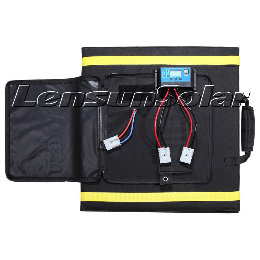 Lensun-200W-Portable-folding-solar-panel-for-outdoor-camping-rvs-trailer