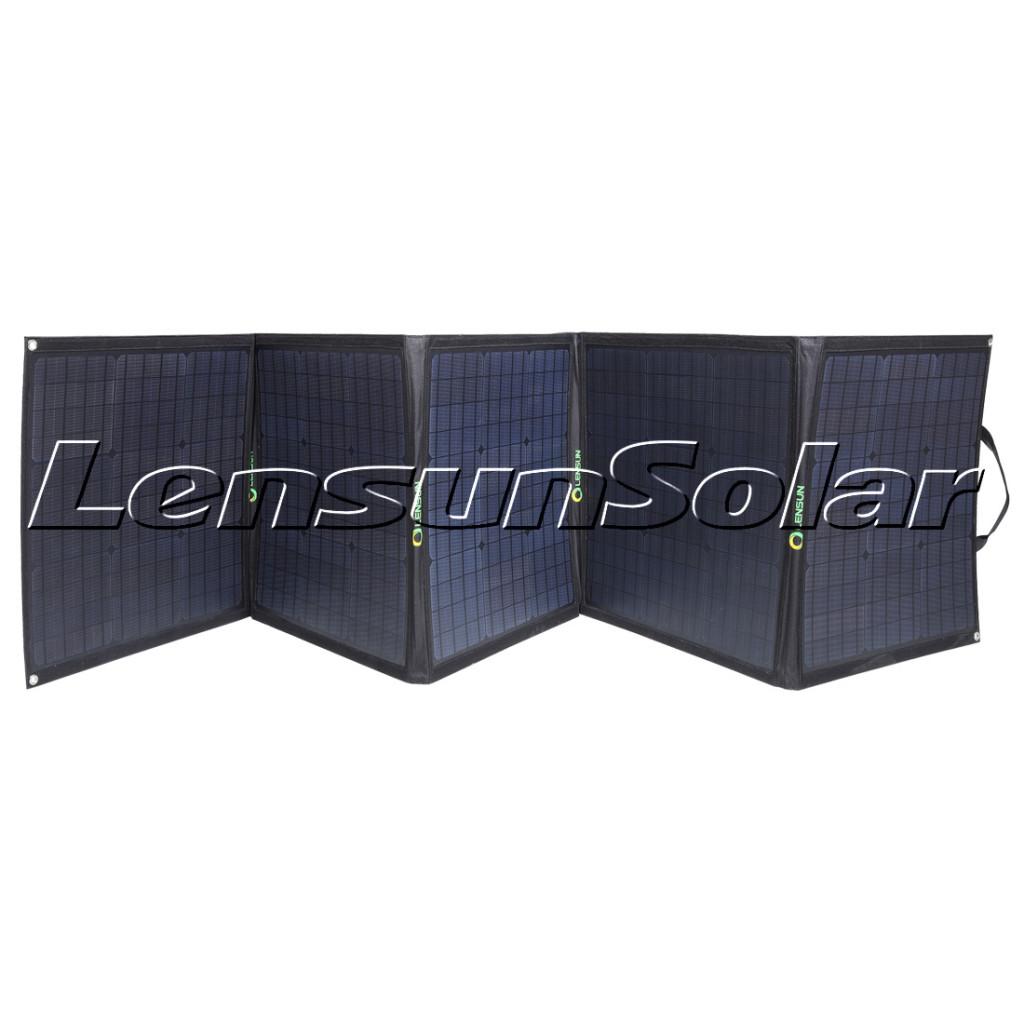 Lensun-200W-Portable-folding-solar-panel-for-outdoor-camping-trailer