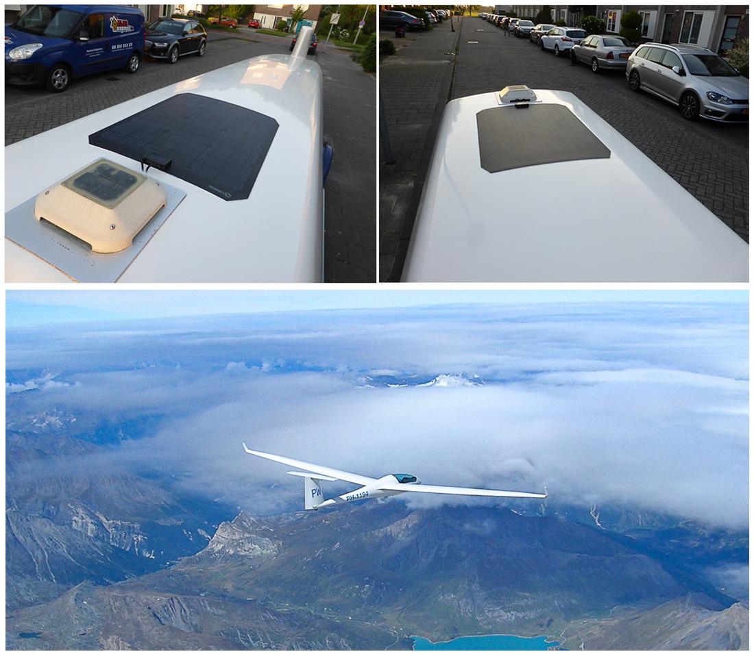 Lensun Solar panel on glider trailer-05-02