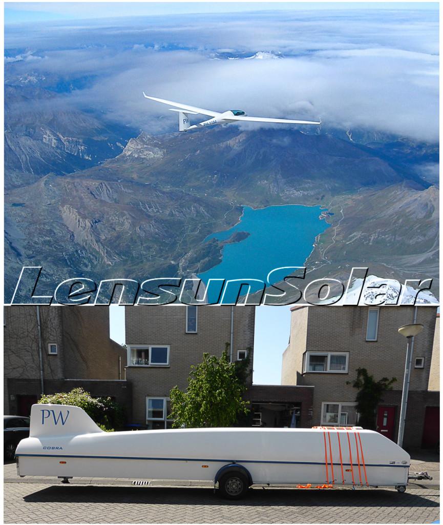Lensun Solar panel on glider trailer-06-01