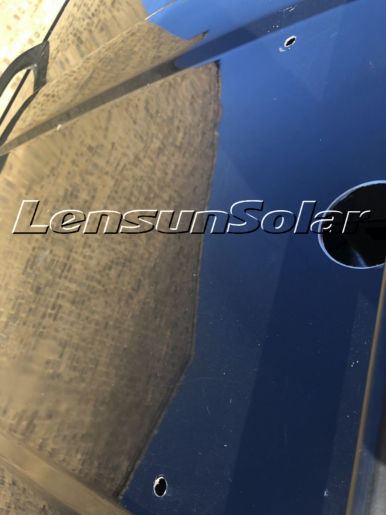 How-to-fit-Lensun-two-50W-100W-ETFE -solar-panels-on-VW-T4-Camping-van-motorhome-rvs-caravan