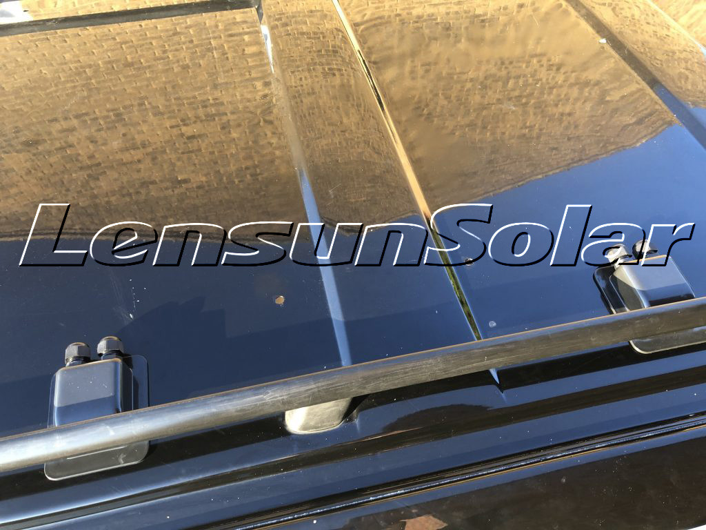How-to-fit-Lensun-two-50W-100W-ETFE -solar-panels-on-VW-T4-Camping-van-motorhome-rvs-caravan-trailer