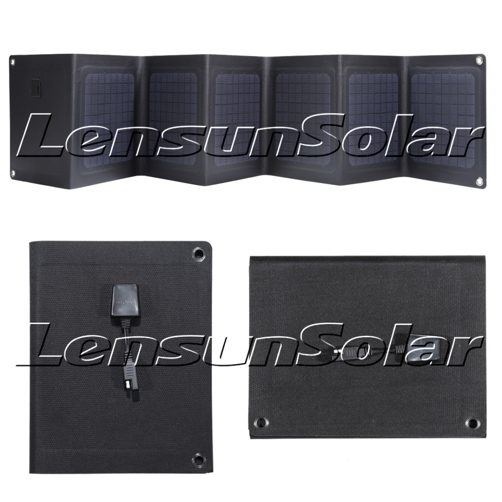 Lensun-30W-18V-ETFE-Coating-Folding-Portable-Solar-Charge-for-charging-12V-battery-Ideal-for-Outdoor-camping-Rvs-caravans-motorhomes-boats-yachts-01
