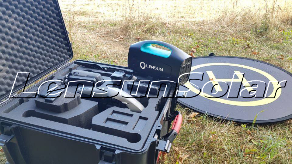 Lensun-Solar-Generator-Energy-Storage-box-to-charge-DJI-Batteries-and-allows-you-to-use-drone-more-freely-for-your-aerial-photographs-and-videos-04