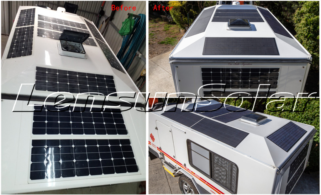 Lensun-55W-18V-Solar-Panels-for-Kimberley-Karavan-of-Off-Road-Caravan-in-Australia-05