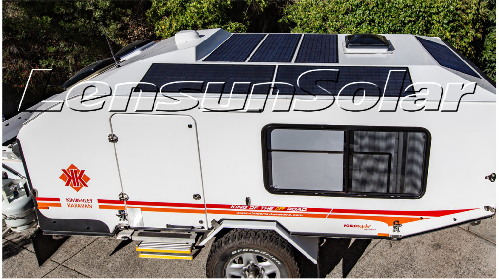 Lensun-55W-18V-Solar-Panels-for-Kimberley-Karavan-of-Off-Road-Caravan-in-Australia-06