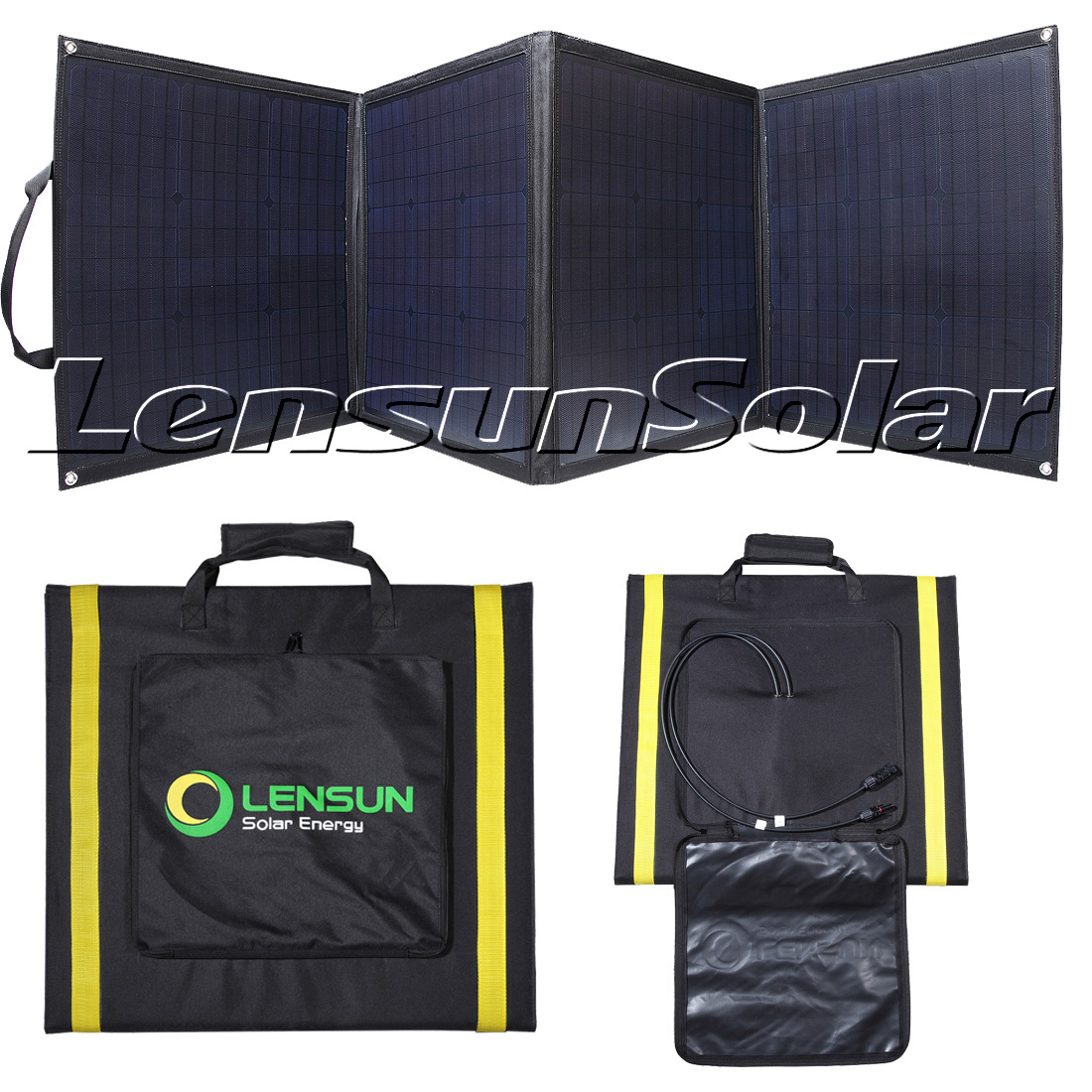 The Review Of Lensun 160w 12v Ultralight Portable Folding