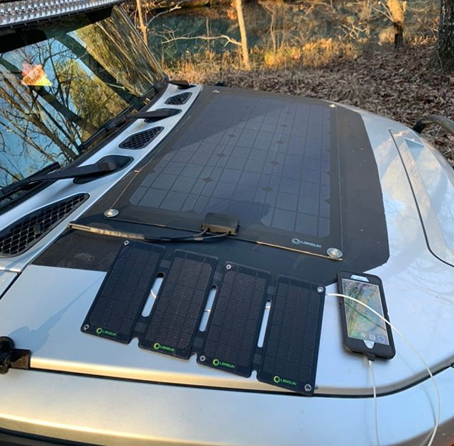 Installation Solar Panel Lensun Solar Panel Lensunsolar