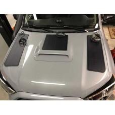 Toyota 4Runner 4th & 5th Gen (2003-2021) with Scoop Lensun 60W(3pcs 20W) Hood Flexible Solar Panel