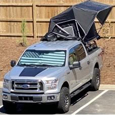 Ford F-150 (2015-Present) Lensun 85W Hood Solar Panel