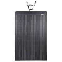 LENSUN 150W 12V ETFE Black Flexible Solar Panel, PERC 9BB 23.5%+ Efficiency Mono Solar cells, for Campers, RVs, Boats,Camping, Tent