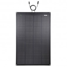 LENSUN 150W 12V ETFE Black Flexible Solar Panel, PERC 9BB 23.5%+ Efficiency Mono Solar cells, for Campers, RVs, Boats,Camping, Tent