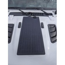Jeep Gladiator JT Lensun 50W Hood Flexible Solar Panel
