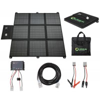 Lensun 200W Solar Blanket Complete Kit Ready to Charge Battery and Solar Generator, with Waterproof MPPT Regulator and cables