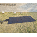 Lensun 360W 12V Portable Solar Blanket Panel Perfect for Power Station Solar Generator RV Boat, Lightweight only 9kgs/20 bls