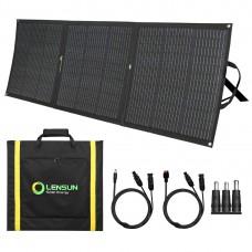 Lensun 160W 12V ETFE Flexible Folding Solar Panel with MC4 Connector for Solar Power Station(Jackery GoalZero Rockpals) RV, Boats
