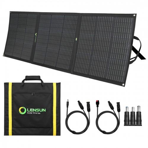 Lensun 160W 12V ETFE Foldable Solar Panel with MC4 Connector for Solar Power Station(Jackery GoalZero Rockpals) RV, Boats