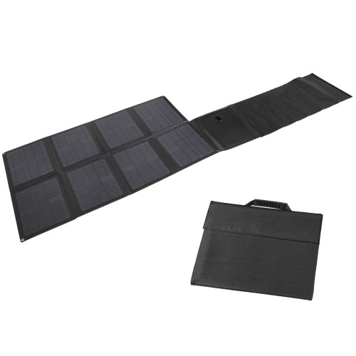 Lensun 100W ETFE Laminated Integrated Laminated Foldable Solar Panel, Waterproof, Durable, Light Weight