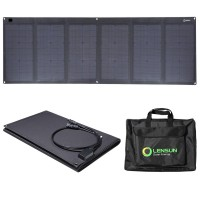 Waterproof Lensun 100W ETFE Laminated Technology Foldable Solar Panel with Bag