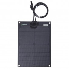 Lensun® ETFE 20W 12V Figerglass Back Sheet Flexible Solar Panel,Lightweight only 0.85kg/2 lbs
